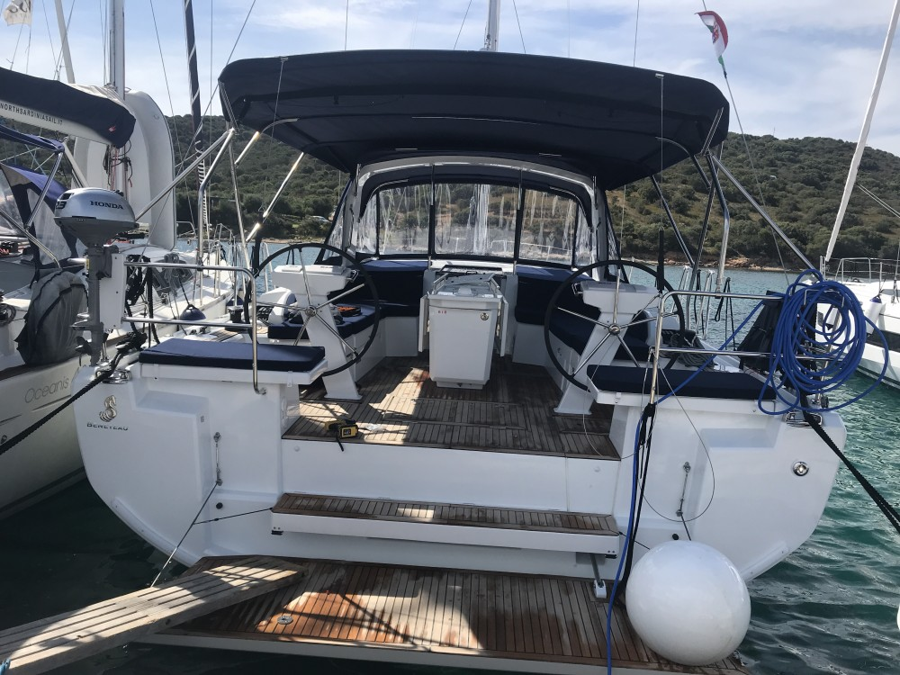 Bénéteau Oceanis 46.1 (5 cab) between personal and professional Castiglioncello