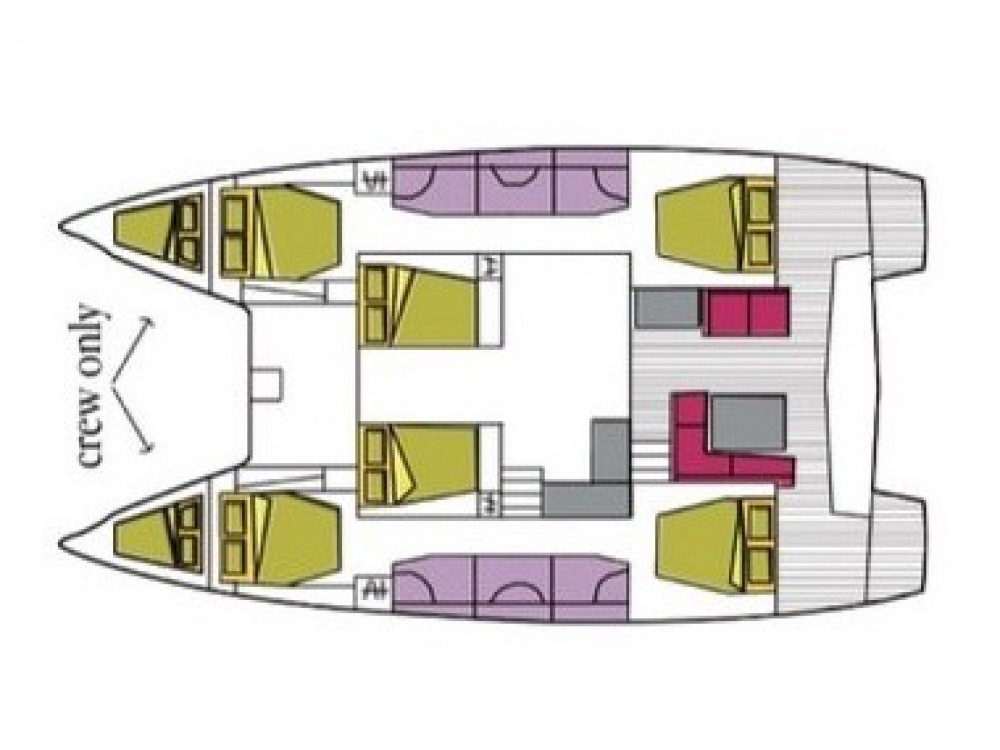 Rental Catamaran in Marigot - Lagoon Lagoon 50