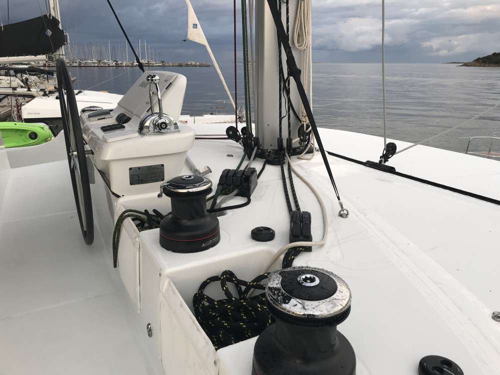 Boat rental Marigot cheap Lagoon 50