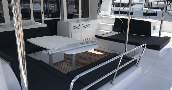Hire Catamaran with or without skipper Lagoon Marina di Portorosa