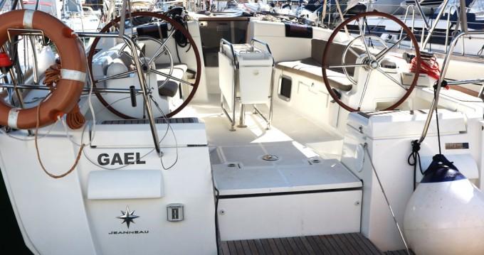 Jeanneau Sun Odyssey 439 between personal and professional Palma de Mallorca
