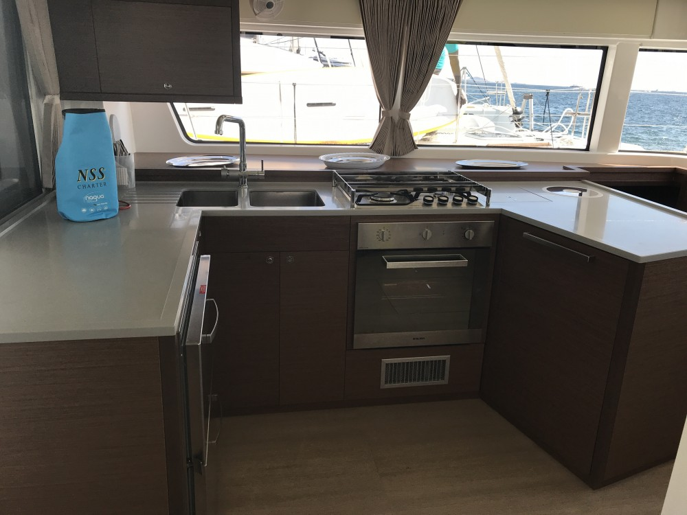 Catamaran for rent Cala dei Sardi at the best price