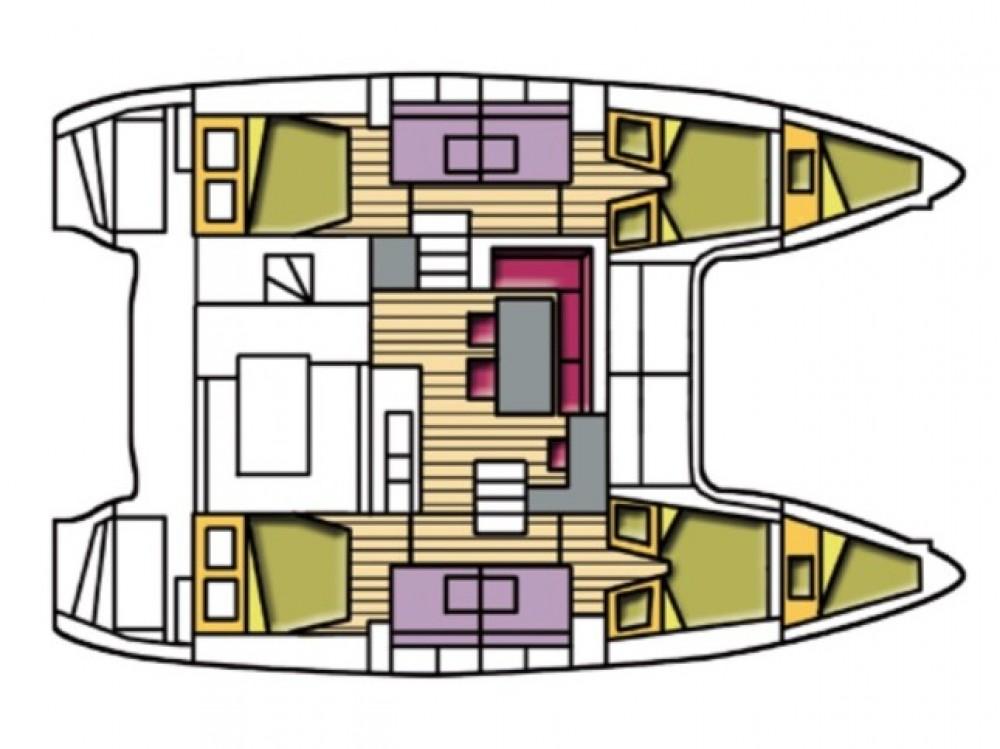 Hire Catamaran with or without skipper Lagoon Palma de Majorque