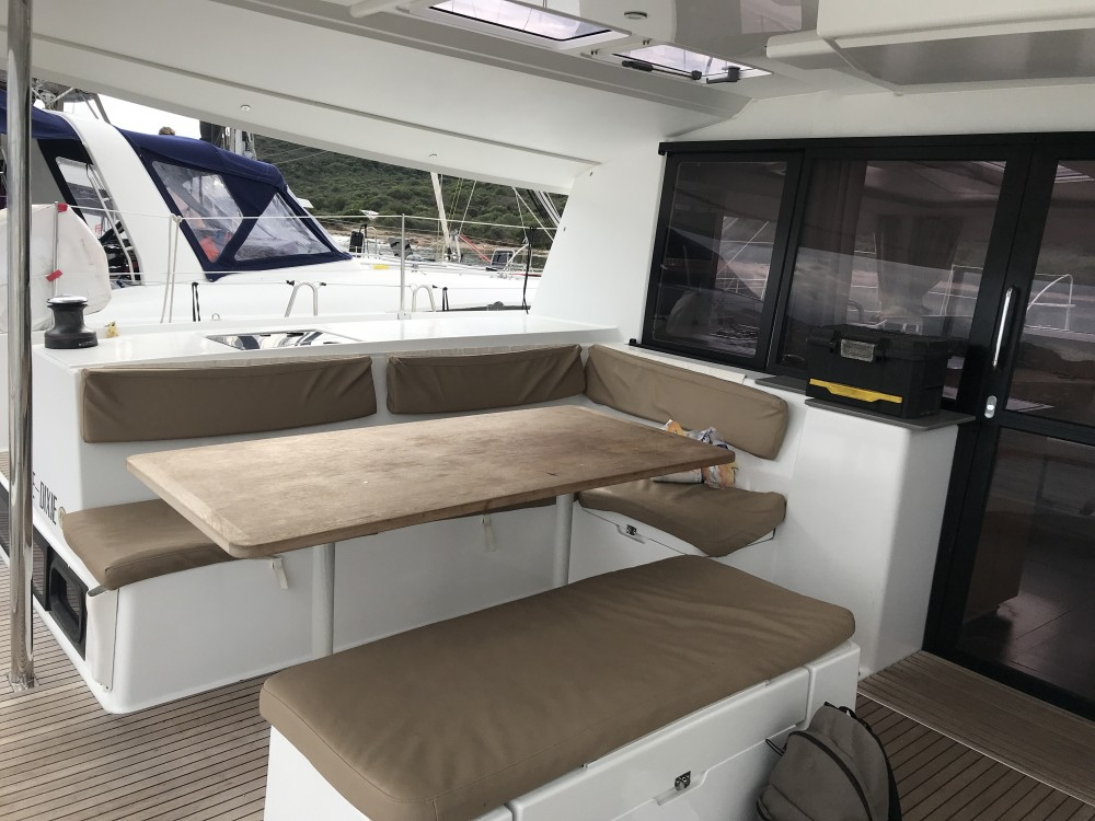 Rental yacht Olbia - Fountaine Pajot Helia 44 on SamBoat
