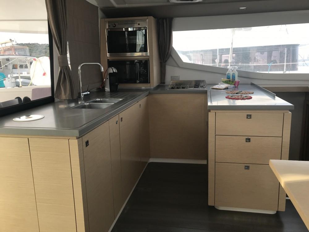 Rental Catamaran in Olbia - Fountaine Pajot Helia 44