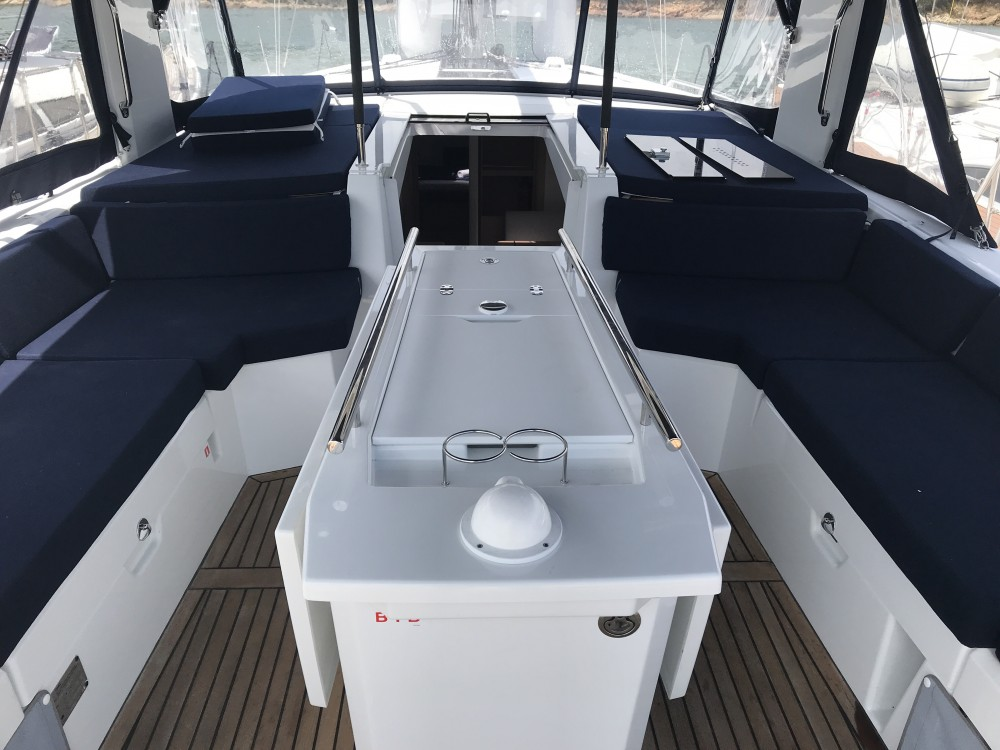 Boat rental Cala dei Sardi cheap Oceanis 46.1 (3 cab)