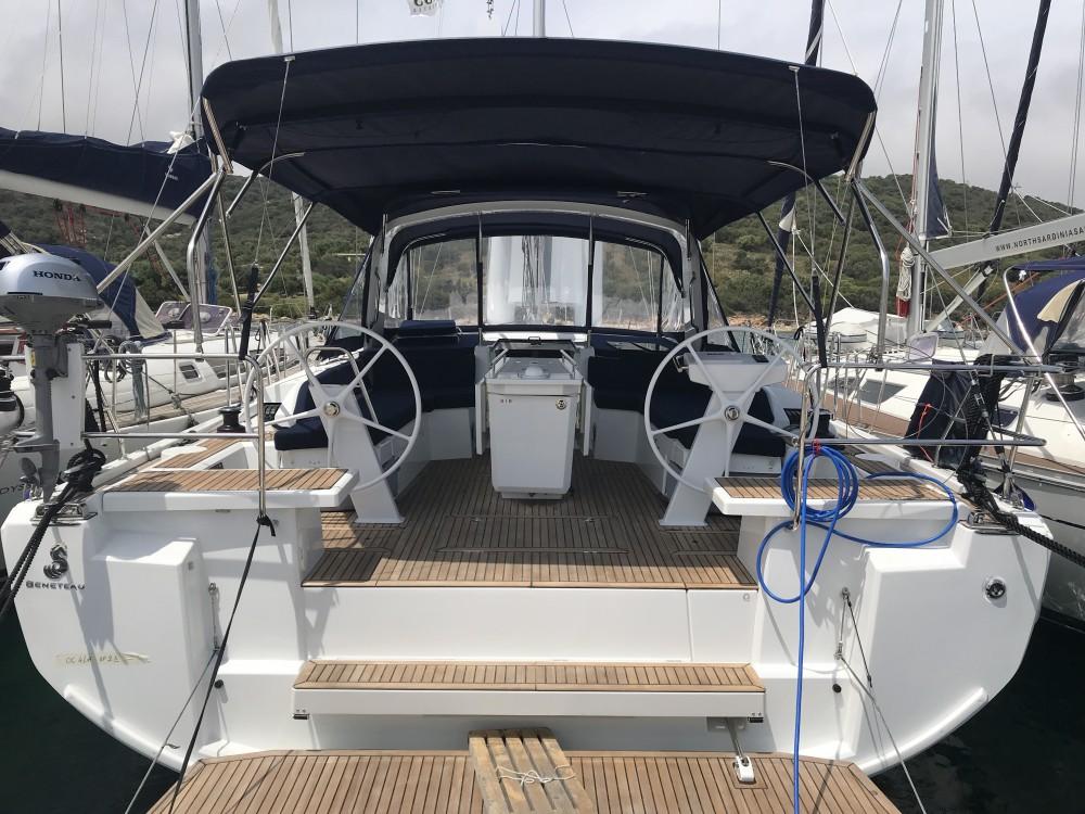 Rental Sailboat in Cala dei Sardi - Bénéteau Oceanis 46.1 (3 cab)