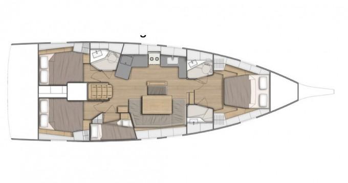 Boat rental Salerno cheap Oceanis 46.1