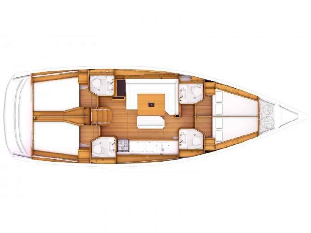 Boat rental Jeanneau Sun Odyssey 469 in Felanitx on Samboat