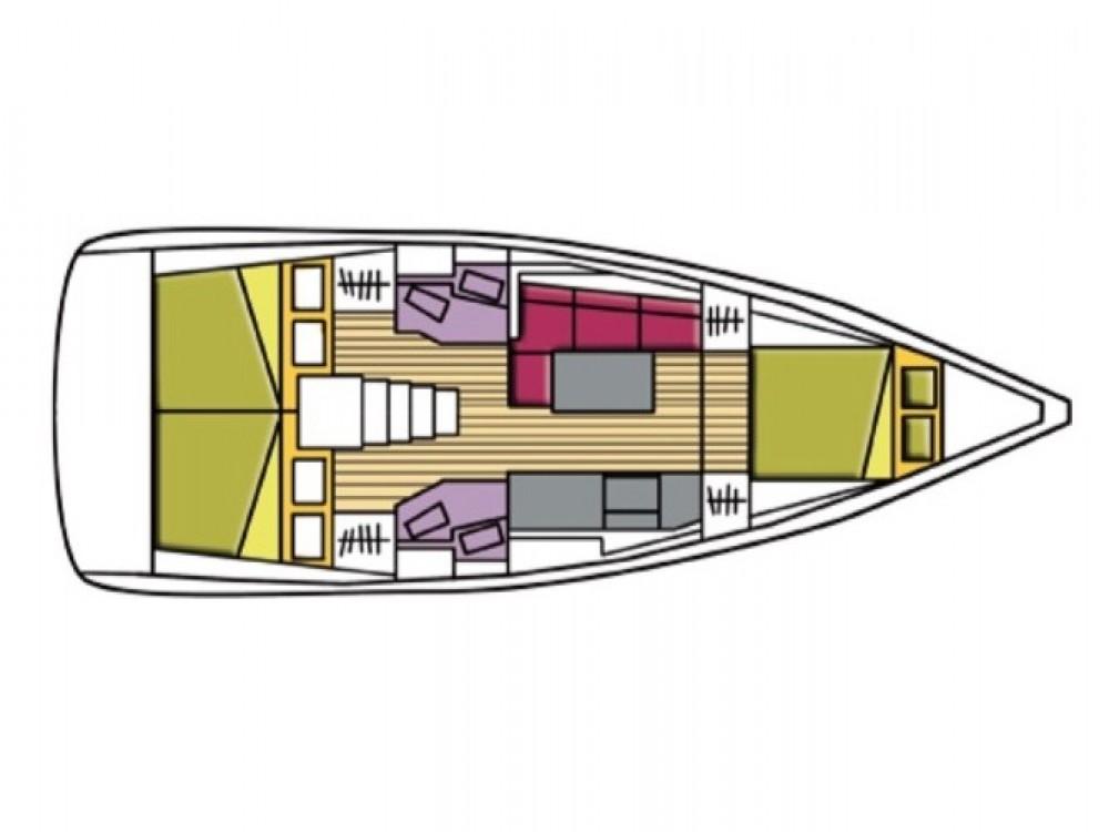 Rental yacht Castiglioncello - Bénéteau Oceanis 38.1 on SamBoat