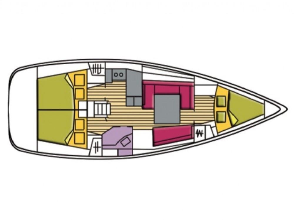 Hire Sailboat with or without skipper Bénéteau Palma de Majorque