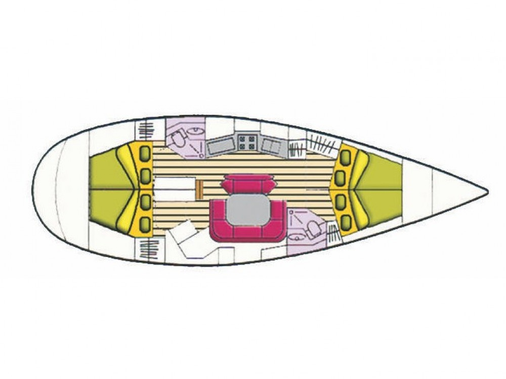 Rental yacht Cala dei Sardi - Jeanneau Sun Odyssey 45.2 Dubhe on SamBoat