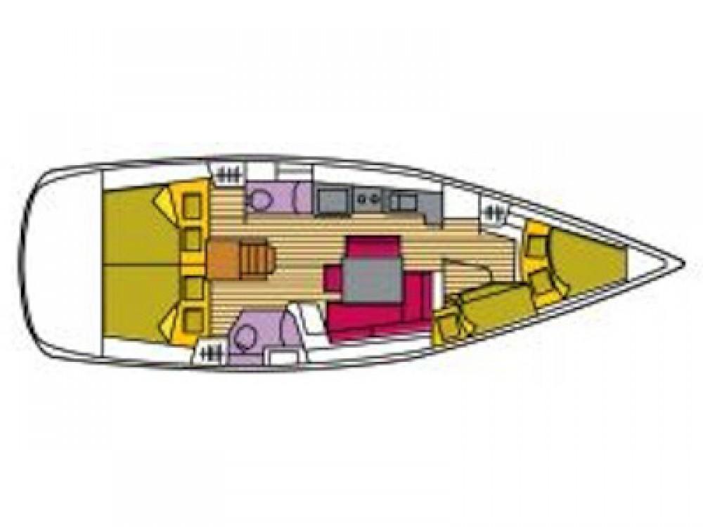 Rental yacht St. George's - Bénéteau Oceanis 43 on SamBoat