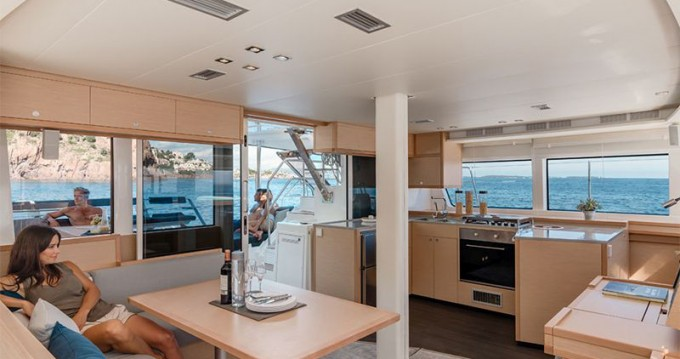 Boat rental Marina di Portorosa cheap Lagoon 52 F