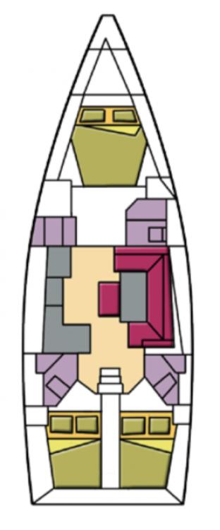 Boat rental  cheap Bavaria Cr. 46 Style