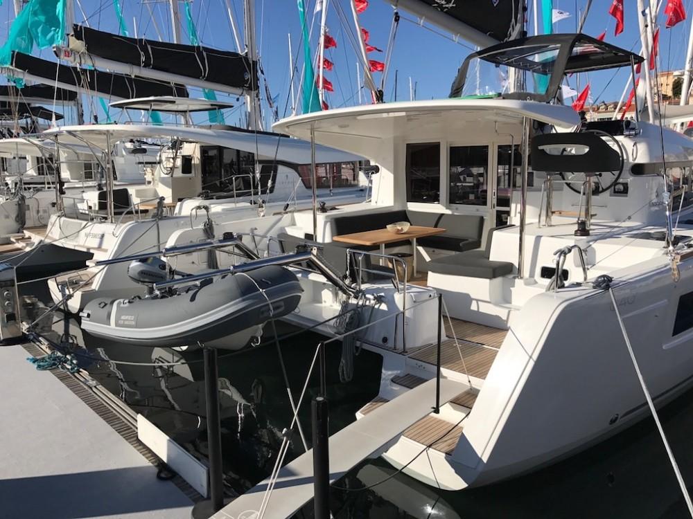 Boat rental Olbia cheap Lagoon 40