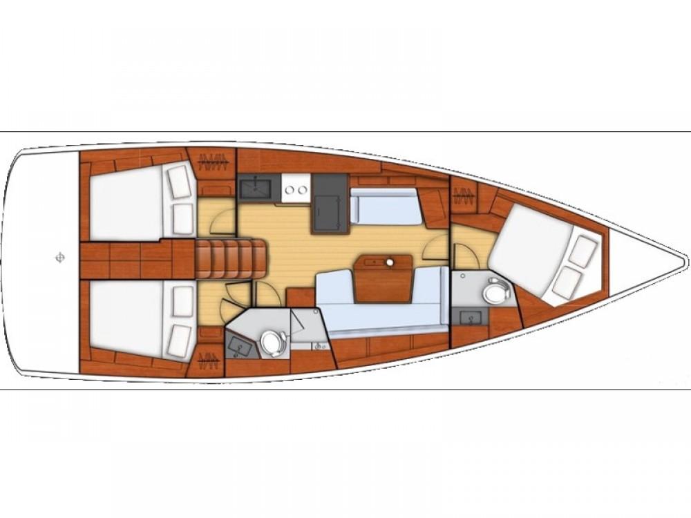 Sailboat for rent Roda de Berà at the best price