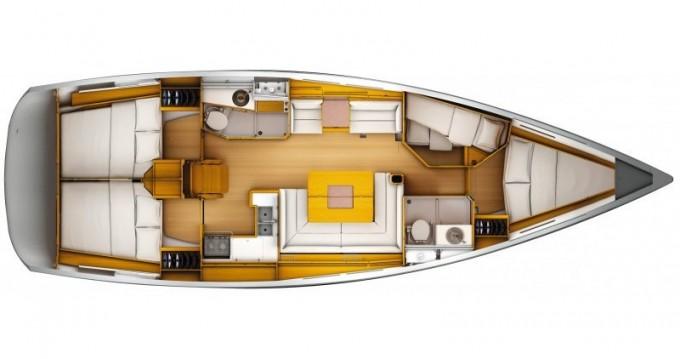 Boat rental Jeanneau Sun Odyssey 439 in Lefkada (Island) on Samboat