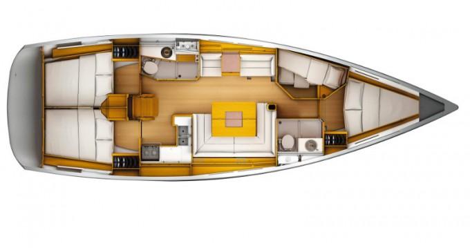 Rental yacht Gouvia - Jeanneau Sun Odyssey 449 on SamBoat