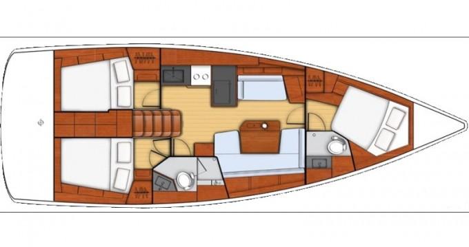 Rental Sailboat in Kos - Bénéteau Oceanis 41.1