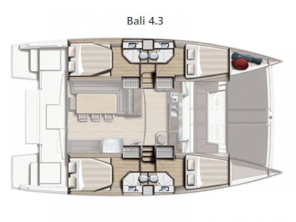 Hire Catamaran with or without skipper Bali Capo d'Orlando Marina