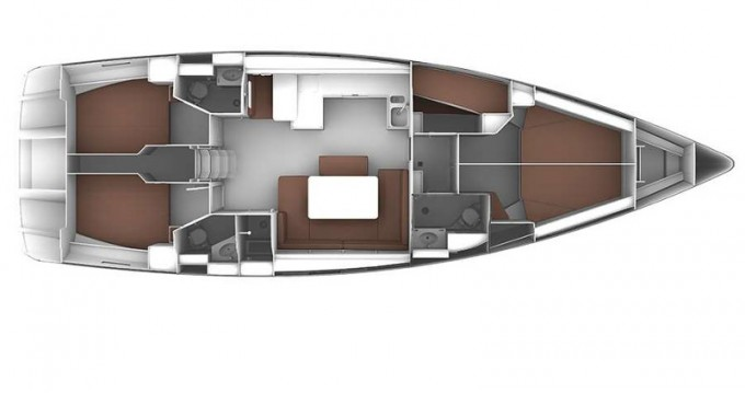 Boat rental Skiathos cheap Cruiser 51
