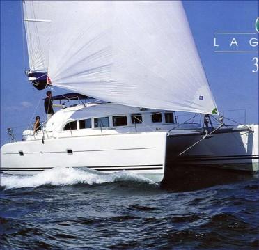 Rental Catamaran in Lefkada (Island) - Lagoon Lagoon 380