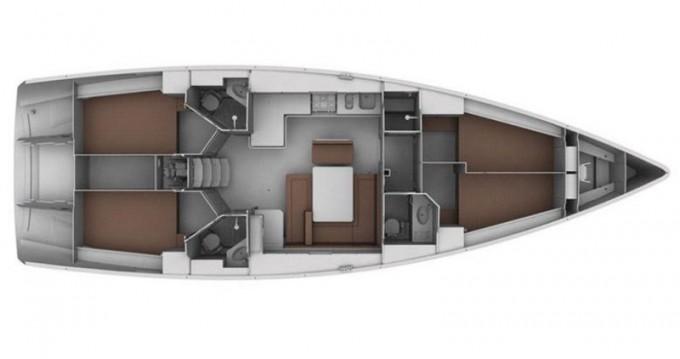 Rent a Bavaria Cruiser 45 Bormes-les-Mimosas
