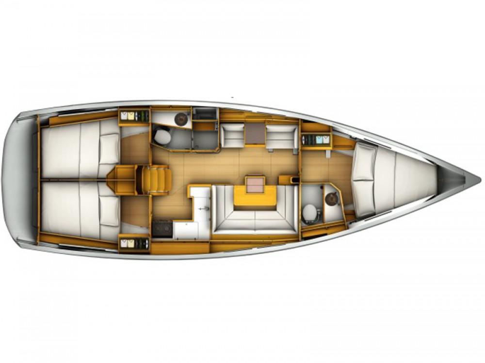 Boat rental Castiglione della Pescaia cheap Sun Odyssey 419