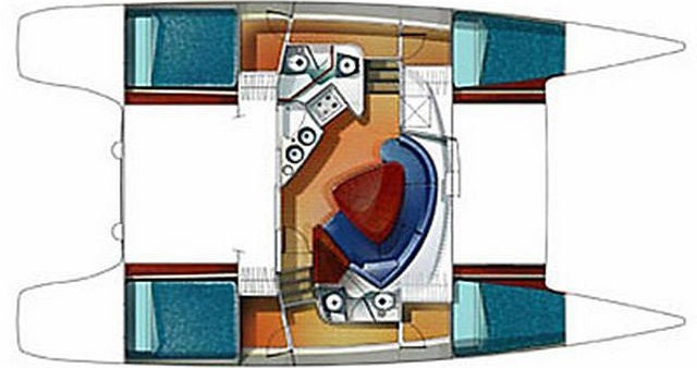 Rental Catamaran in Palermo - Fountaine Pajot Lavezzi 40