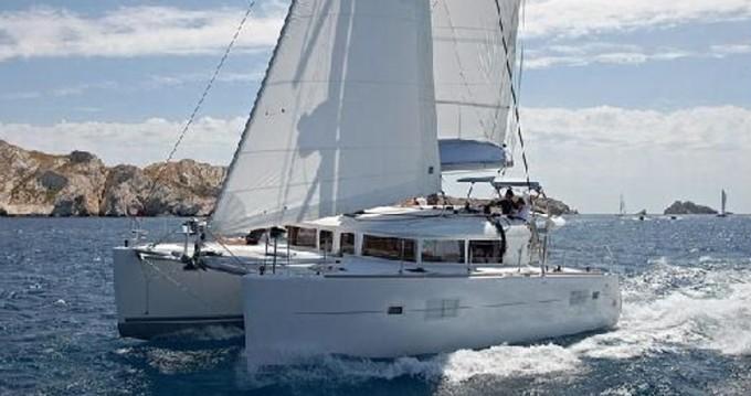 Boat rental Rhodes cheap Lagoon 400