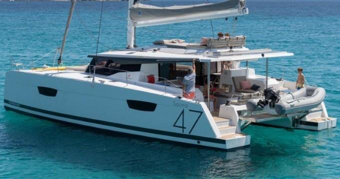 Rental yacht Alimos - Fountaine Pajot Saona 47 on SamBoat