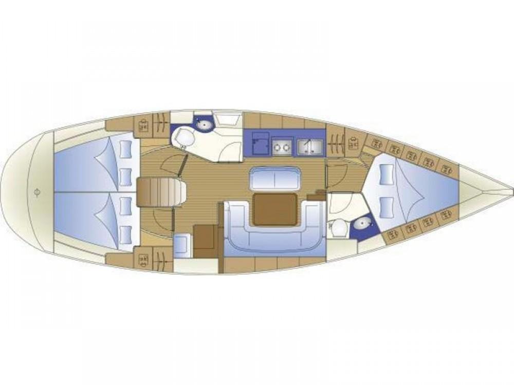 Rental yacht Ródos - Bavaria Bavaria 40 Cruiser on SamBoat