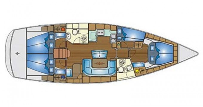 Boat rental Alimos cheap Bavaria 46 Cruiser