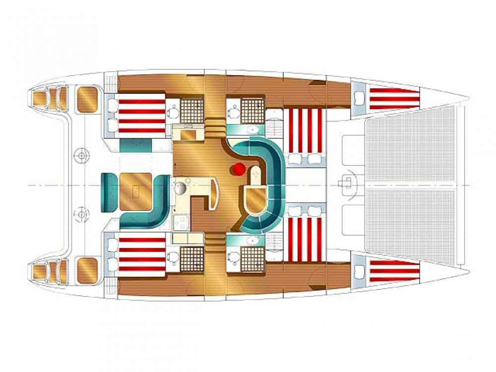 Rental Catamaran in Marina Gouvia - Nautitech Nautitech 47