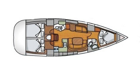 Boat rental Alimos cheap Sun Odyssey 42i