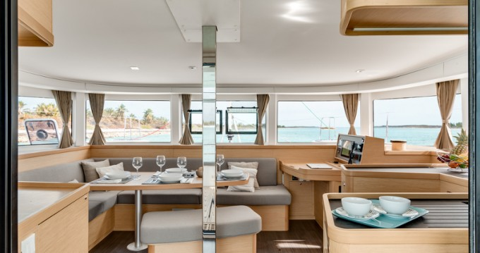 Boat rental Mykonos (Island) cheap Lagoon 42