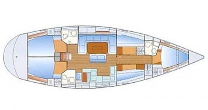 Boat rental Alimos cheap Bavaria 50 Cruiser