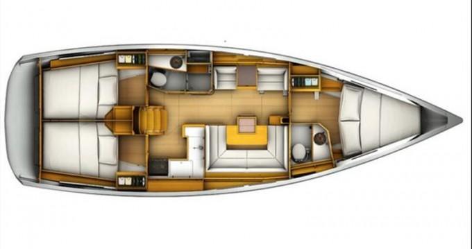 Boat rental Jeanneau Sun Odyssey 409 in Lefkada (Island) on Samboat