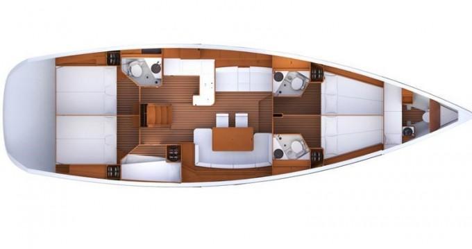 Boat rental Kos cheap Jeanneau 53