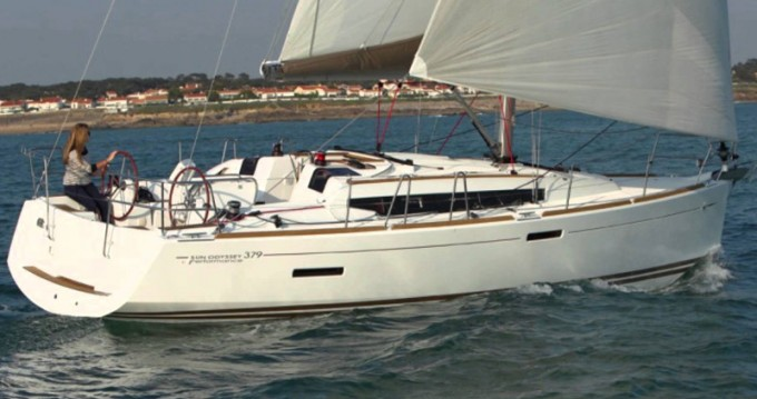 Boat rental Jeanneau Sun Odyssey 379 in Alimos on Samboat