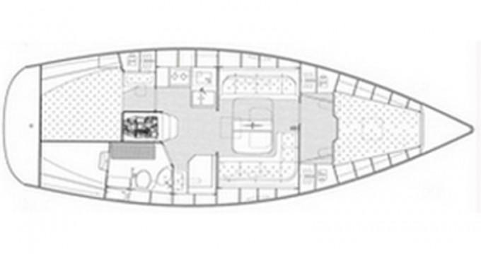 Boat rental Bavaria Bavaria 38 Cruiser/2cbs  in Alimos on Samboat