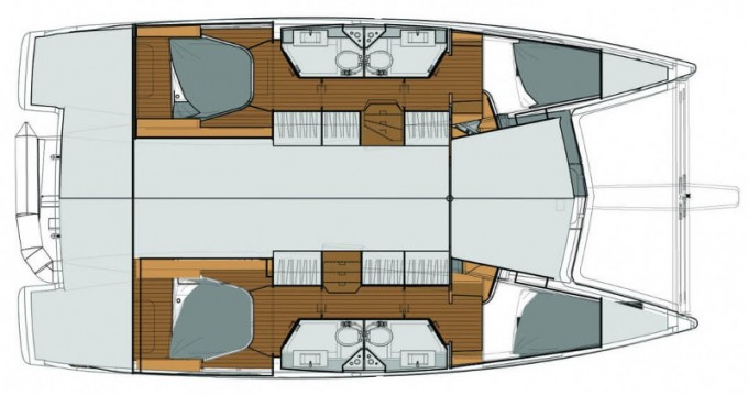 Rental yacht Alimos - Fountaine Pajot Lucia 40 on SamBoat