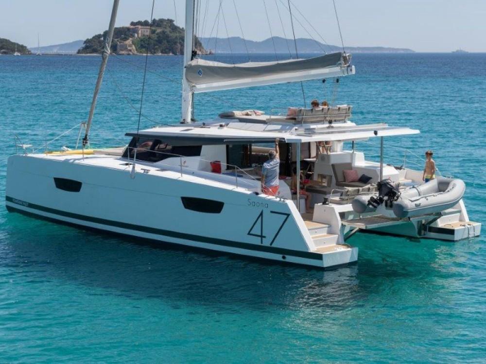 Boat rental San Martín cheap Saona 47