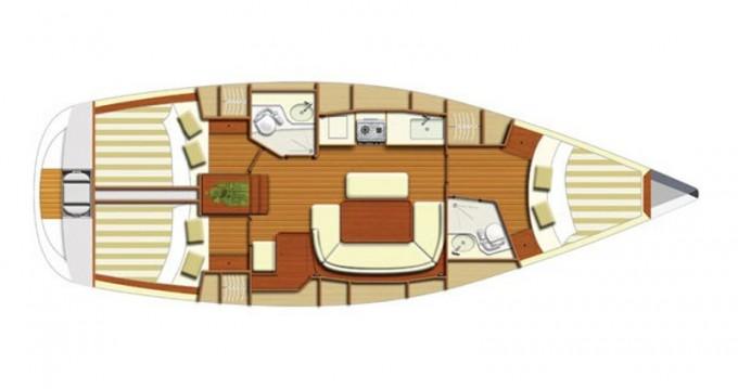 Rent a Dufour Dufour 385 Paros Island