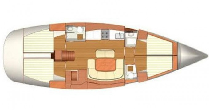 Hire Sailboat with or without skipper Dufour Kos