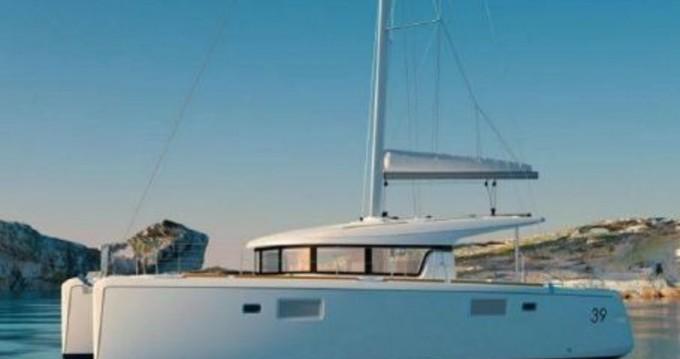 Rental Catamaran in Gouvia - Lagoon Lagoon 39