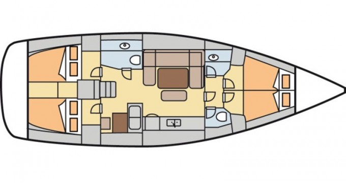 Hire Sailboat with or without skipper Dufour Kalkara