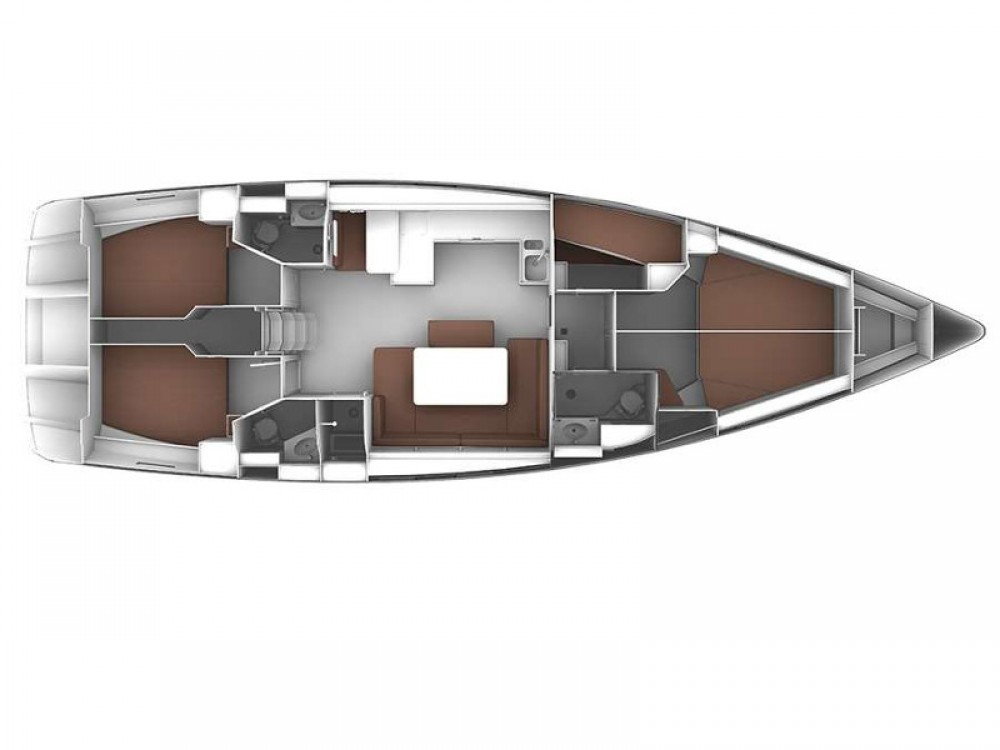 Rental yacht Port de Bormes - Bavaria Bavaria Cruiser 51 on SamBoat