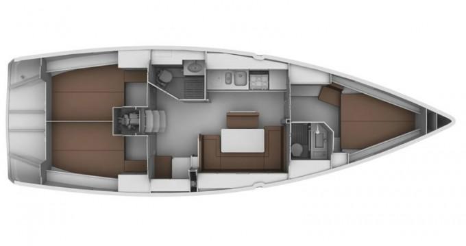 Boat rental Bavaria Cruiser 40 in Zadar on Samboat
